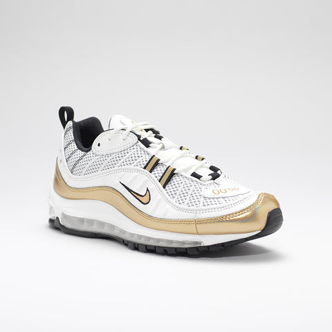 NIKE AIR MAX 98 GMT WHITE/GOLD