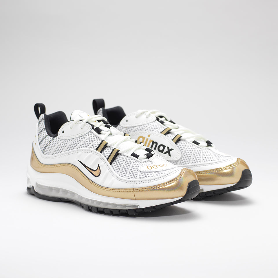 hot sale online d1187 8a04e ... clearance nike air max 98 gmt white gold 26419 9bf24