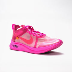 NIKE X OFF WHITE ZOOM FLY PINK