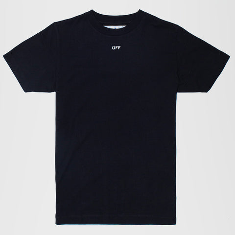 OFF-WHITE STENCIL T-SHIRT BLACK
