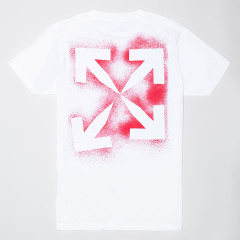 OFF-WHITE STENCIL OVERSIZED T-SHIRT WHITE