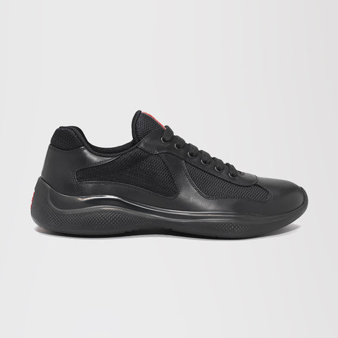 PRADA AMERICA'S CUP LEATHER BLACK