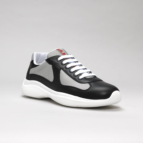 PRADA AMERICA'S CUP LEATHER BLACK/SILVER