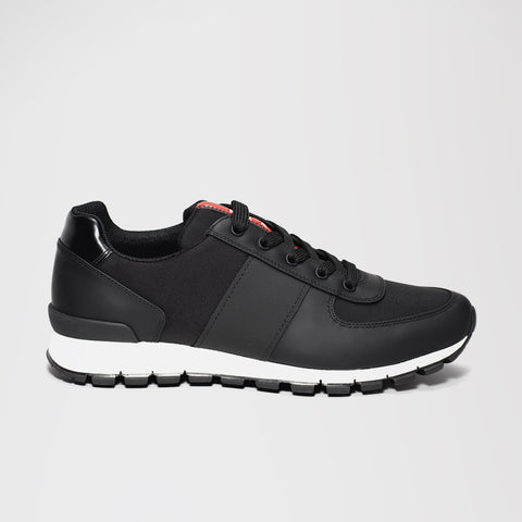 PRADA RUNNERS BLACK/WHITE