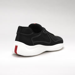 PRADA AMERICA'S CUP LOW-TOP TRAINERS BLACK
