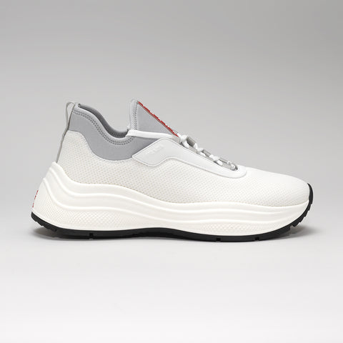 PRADA EXAGGERATED-SOLE MESH WHITE