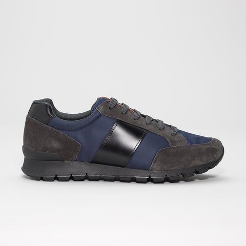 PRADA RUNNERS BLUE/GREY