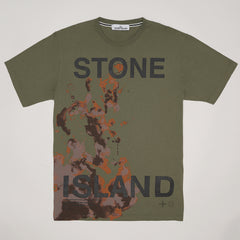 STONE ISLAND GRAPHIC SEVEN' PRINT T-SHIRT GREEN