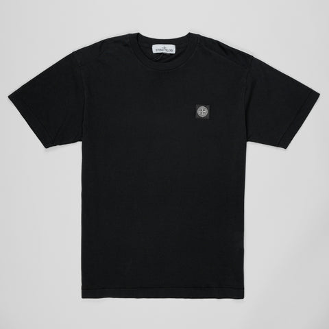 STONE ISLAND CREW-NECK T-SHIRT BLACK