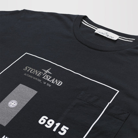 STONE ISLAND INDUSTRIAL 3 T-SHIRT BLACK