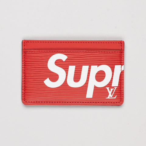 LOUIS VUITTON X SUPREME PORTE CARTE SIMPLE CARD HOLDER