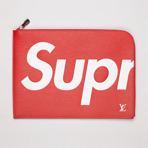 LOUIS VUITTON X SUPREME POCHETTE JOUR GM