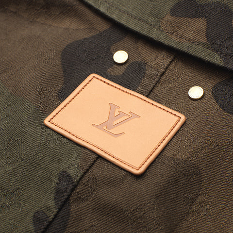 LOUIS VUITTON X SUPREME CAMO OVERSHIRT