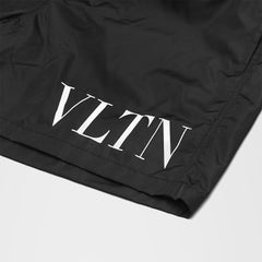VALENTINO VLTN SWIM SHORTS BLACK