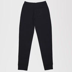 VALENTINO VLTN VISCOSE KNIT TRACK SWEATPANTS BLACK