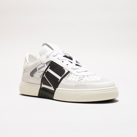 VALENTINO VL7N LOW-TOP TRAINERS WHITE