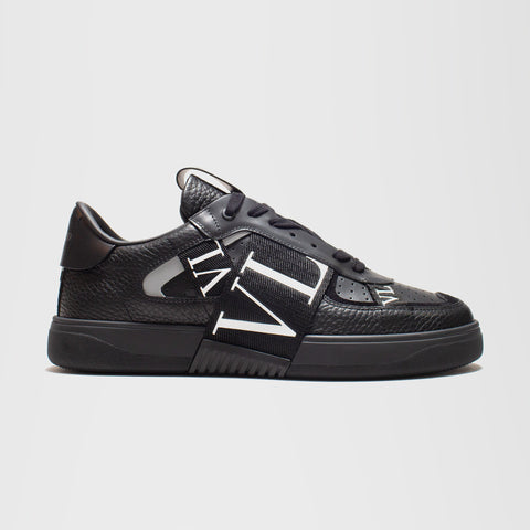 VALENTINO VL7N LOW-TOP TRAINERS BLACK