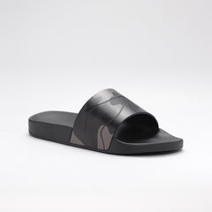 VALENTINO CAMO POOL SLIDES BLACK/GREY