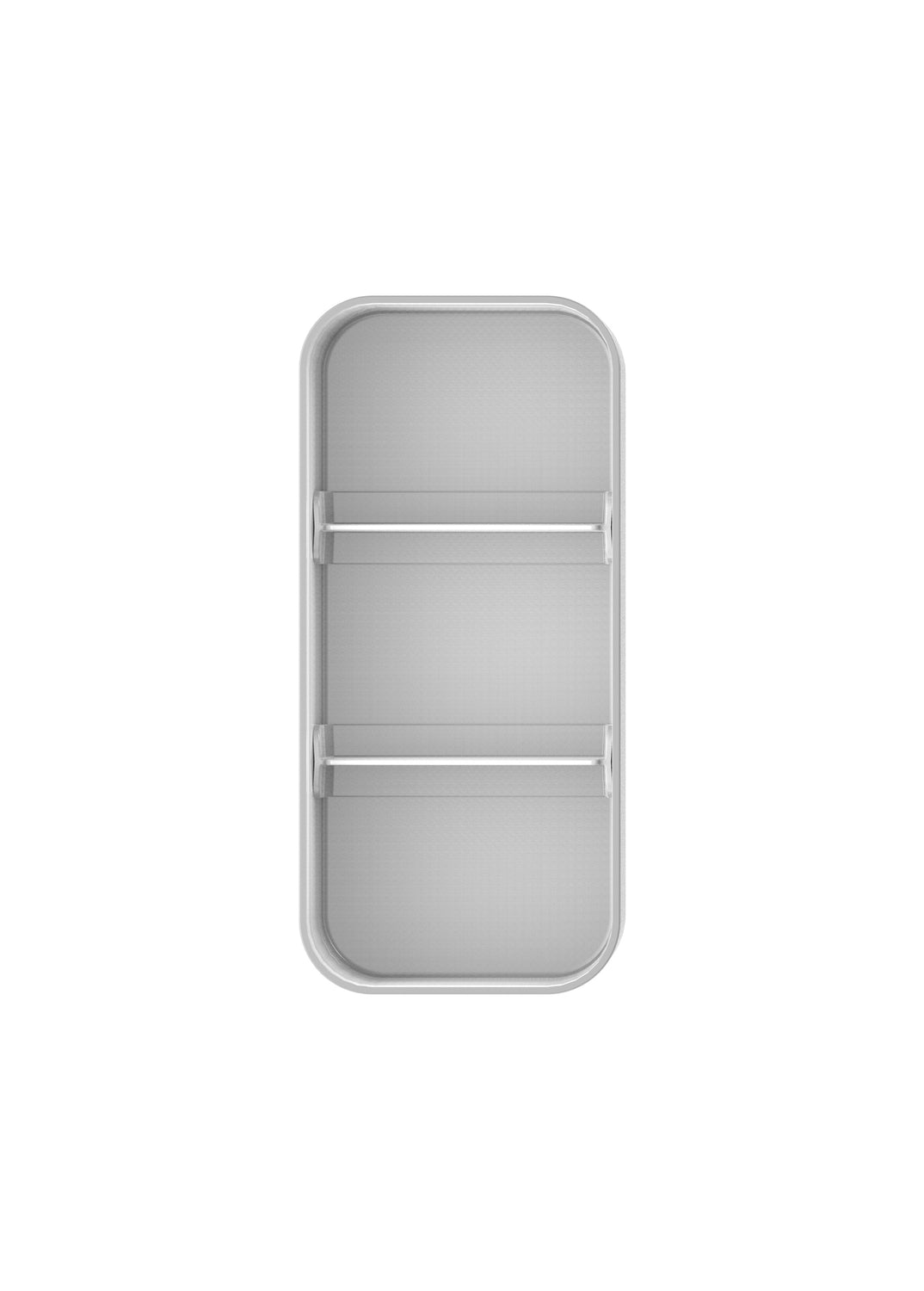 Storage Compartment - Silver