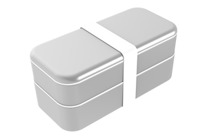 BENTOSTACK SILVER (Fits USA wall plugs)