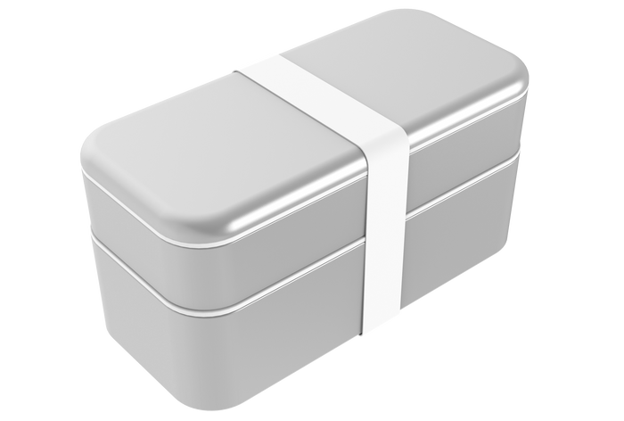 BENTOSTACK XL SILVER (Fits Euro wall plugs)