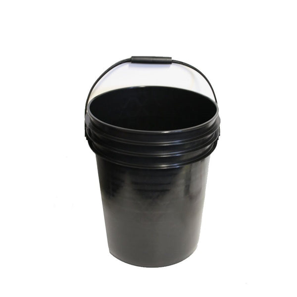 Bucket Black 20 Liter / 5 Gallon