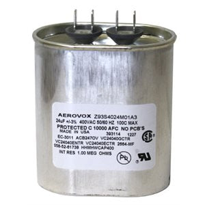 CAPACITOR 400 W MH / 400 VCA / 24 µF