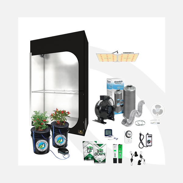 *Updated Pricing* Complete 2 Plant Starter Grow Kit HYDRO LED