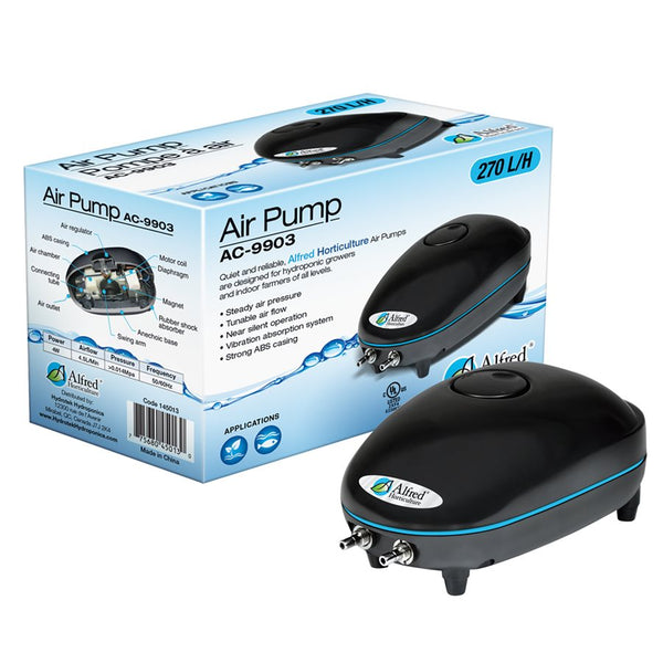 Alfred Air Pump 2 Outlets 270L / H 4W