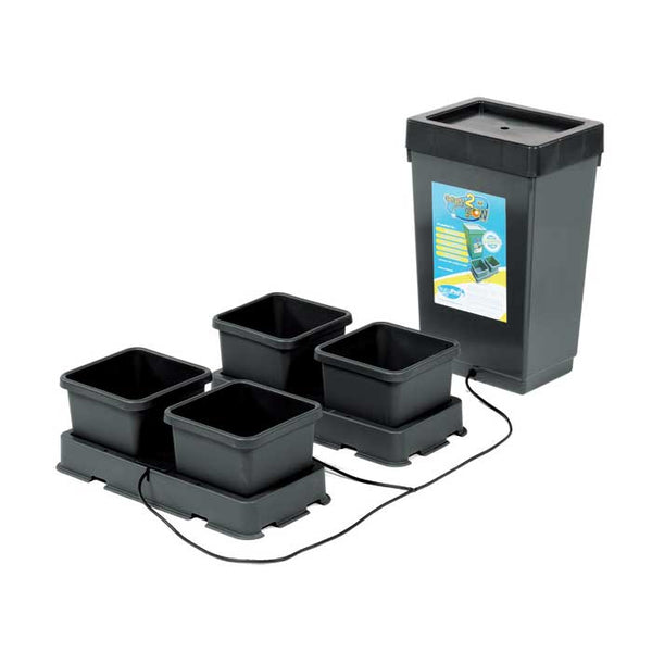AutoPot Easy2Grow Complete Watering Systems- Black (4 Pots)