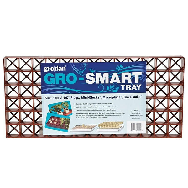 Grodan GRO-SMART TRAY DOUBLE SIDED 78 CELLS (box of 5)