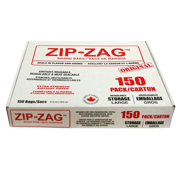 Zip-Zag Original Large Bags 27.9 CM X 29.8 CM (150) Accessories
