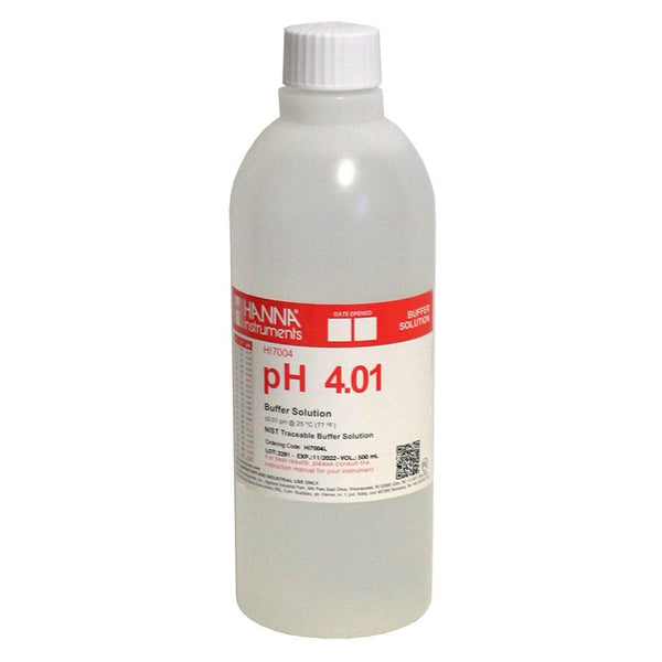 Hanna Instruments 7004L BUFFER SOLUTION PH 4.01 500 ML