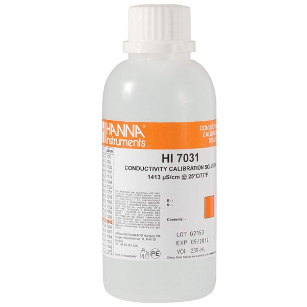 Hanna Instruments 7031L EC SOLUTION 1413 µS / CM 500 ML