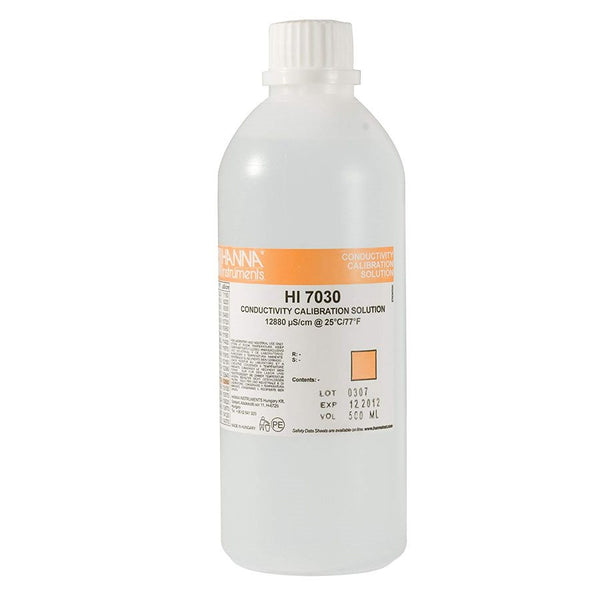 Hanna Instruments 7030L EC SOLUTION 12880 µS / CM 500 ML
