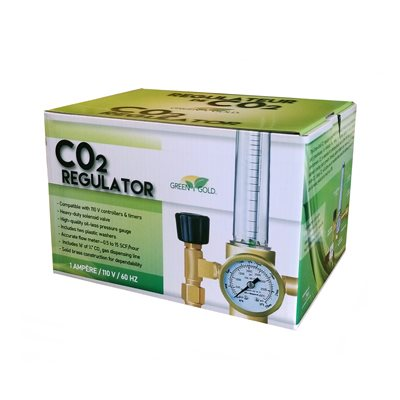Green Gold CO2 Regulator 0.5-15 SCF/HOUR