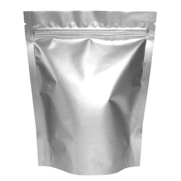"Sealed Metallic Pocket Bag Zip Lock 4.75"" X 6.3"" X 1.4"""
