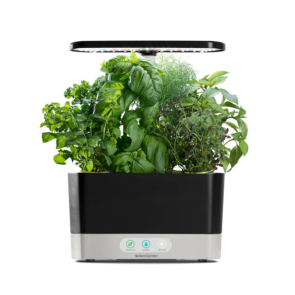 AeroGarden Harvest, Black