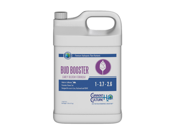 Current Culture H2O Cultured Solutions Bud Booster Early Nutrients