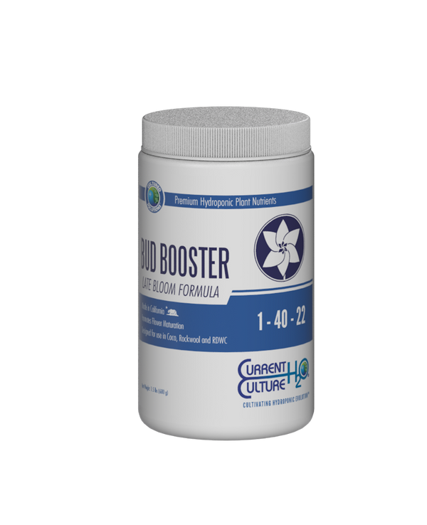 Current Culture H2O Cultured Solutions Bud Booster Late Bloom Formula