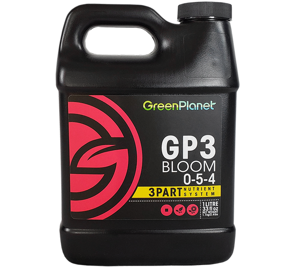 GreenPlanet Nutrients GP3™ Bloom 0-5-4