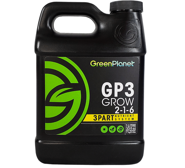 GreenPlanet Nutrients GP3™ Grow 2-1-6
