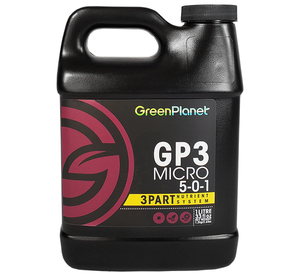 GreenPlanet Nutrients GP3™ Micro 5-0-1