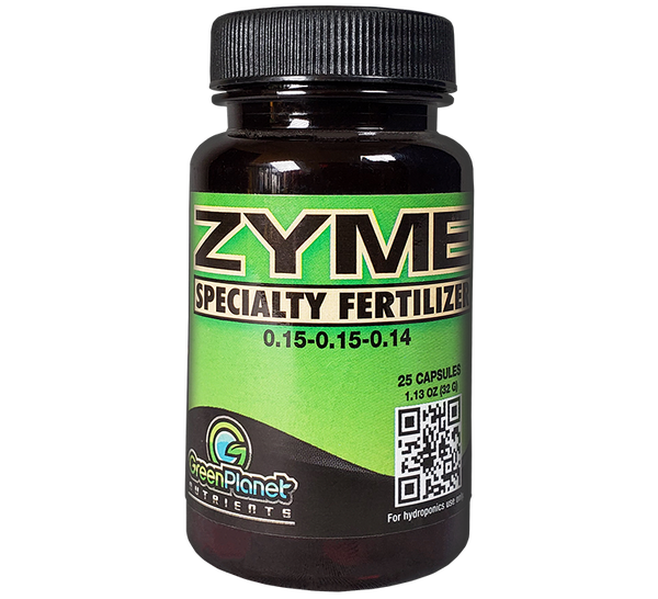 GreenPlanet Nutrients Zyme Capsules (0.15-0.15-0.14)