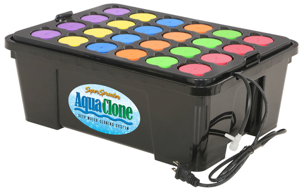 Super Sprouter Aqua Clone 24 Site Deep Water Cloning System