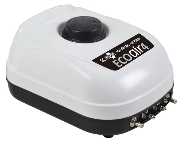 EcoPlus Eco Air Pump 4 Four Outlet - 6.5 Watt 253 GPH