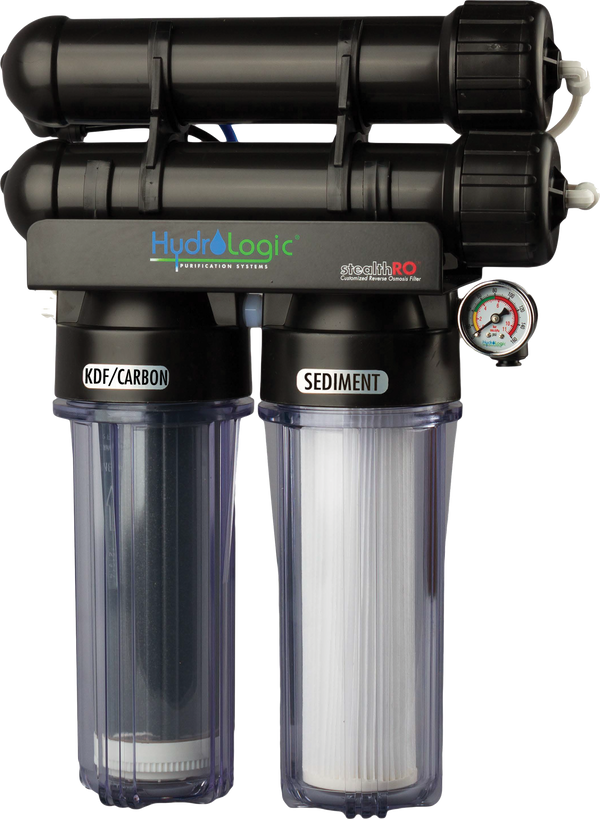 Hydrologic Stealth-RO300 with Upgraded KDF Filter (KDF85 Carbon Filter)