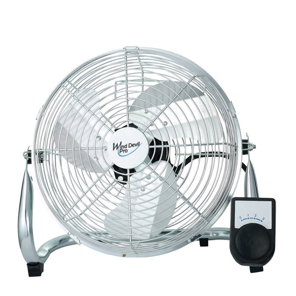 "Wind Devil- 9"" Floor Fan / 3 Speeds"