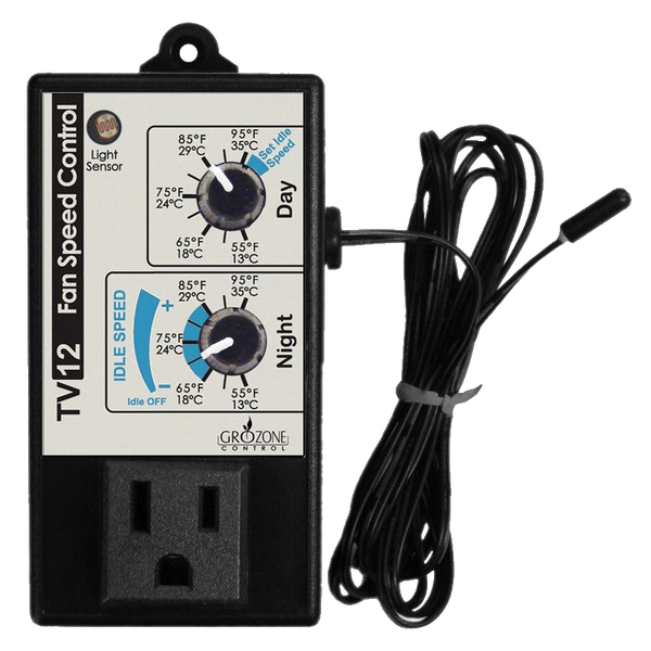 Grozone TV12 Day/Night Variable Speed Fan Controller