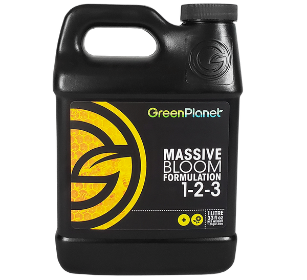 GreenPlanet Nutrients Massive Bloom Formulation (1-2-3)